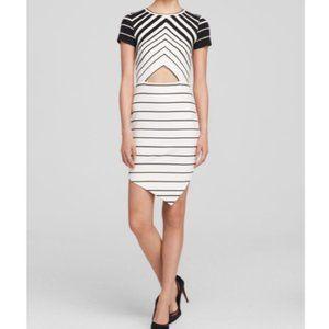 Bec & Bridge Zodiac Tee Dress in Black/White SZ 2